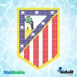 escudo atlético de madrid gresite piscina