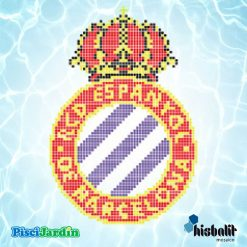 escudo rcd espanyol gresite piscina