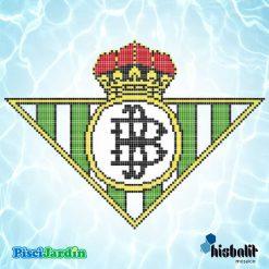 escudo real betis gresite piscina