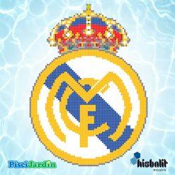 escudo real madrid gresite piscina