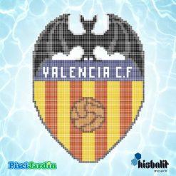 escudo valencia cf gresite piscina