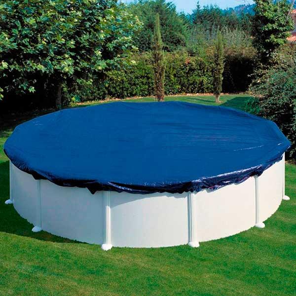 Cubiertas de invierno gre piscinas elevadas de acero for Catalogo de piscinas desmontables